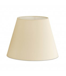 Beige Tapered Shade For Eterna And Rem Floor Lamps