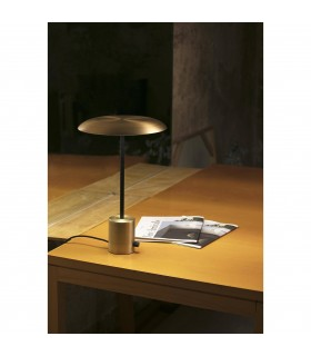 LED Table Lamp Black, Gold