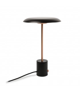 LED Table Lamp Black, Copper