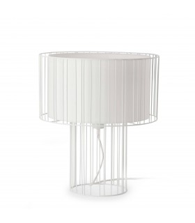 1 Light Table Lamp White, E27