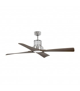 Faro - Winche Large Chrome Ceiling Fan With/without Light FARO33482