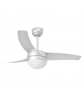 Easy Small Grey Ceiling Fan With Light