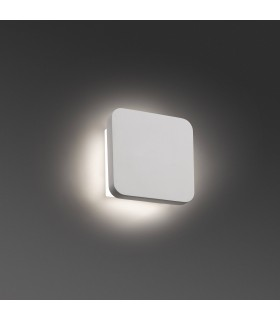 Integrated LED Indoor Wall Light White Plaster
