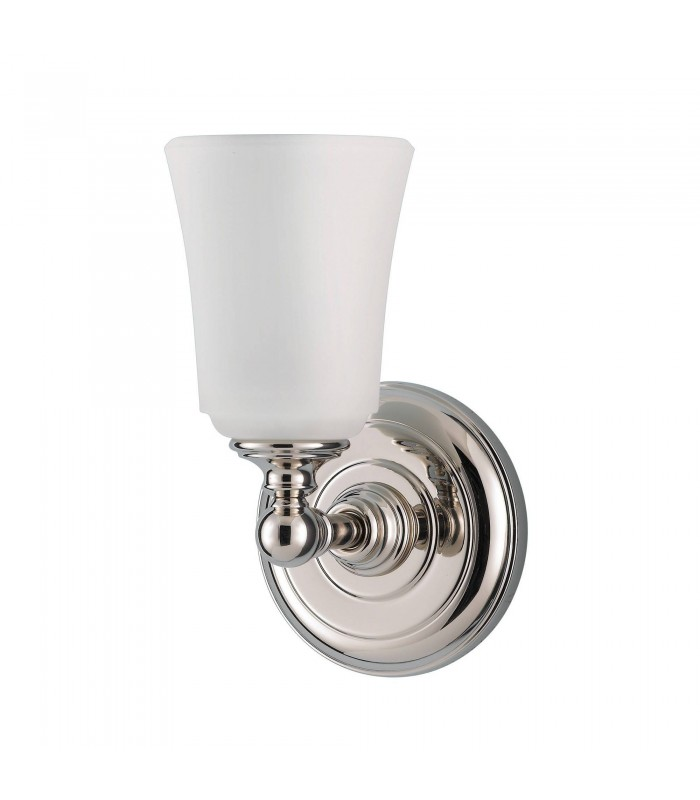 1 Light Indoor Wall Light Polished Chrome IP44