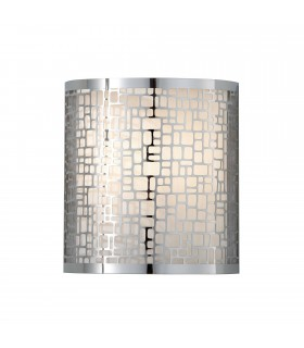 1 Light Indoor Wall Light Chrome