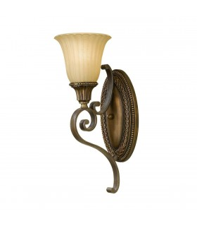 1 Light Indoor Wall Light Gold, Bronze