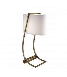 1 Light Table Lamp Brass, E27