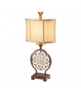 1 Light Table Lamp British Bronze, E27