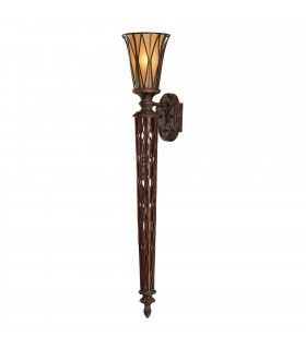 1 Light Indoor Wall Uplighter Firenze Gold, E14