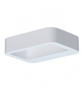 White Led Gypsum Wall Light