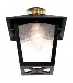 York Flush Porch Lantern - Elstead Lighting