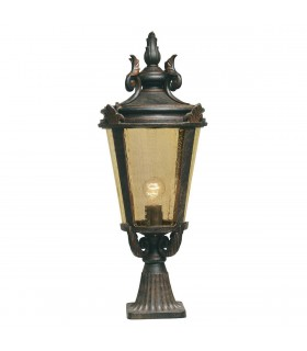 Baltimore Pedestal Lantern Large - Elstead Lighting