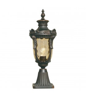 Philadelphia Pedestal Lantern Medium - Elstead Lighting
