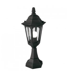Parish Mini Pedestal Lantern Black - Elstead Lighting