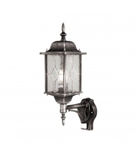 Wexford Up Wall Lantern With PIR - Elstead Lighting