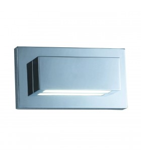 LED Up Down 2 Light Indoor Wall Light Chrome