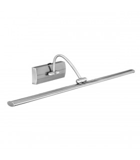 LED Picture Wall Light Satin Silver