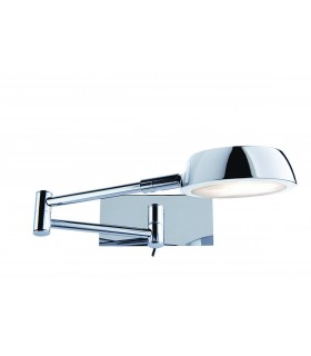 CHROME ADJUSTABLE WALL BRACKET - Searchlight 3863CC
