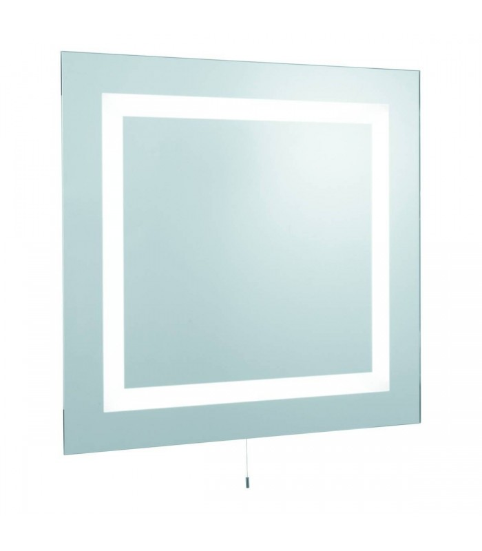 4 Light Illuminated Fluorescent Bathroom Mirror Light IP44