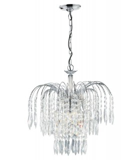 Light Ceiling Chandelier With Crystal Decoration