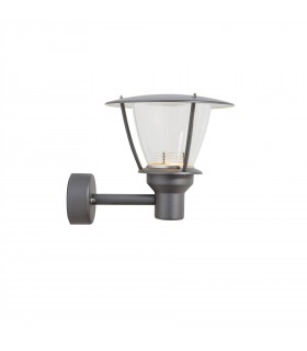 LED 1 Light Outdoor Wall Light Graphite Structure IP44