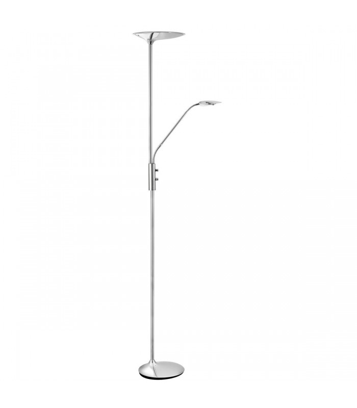 Chrome LED Mother & Child Floor Lamp - Searchlight 8622CC