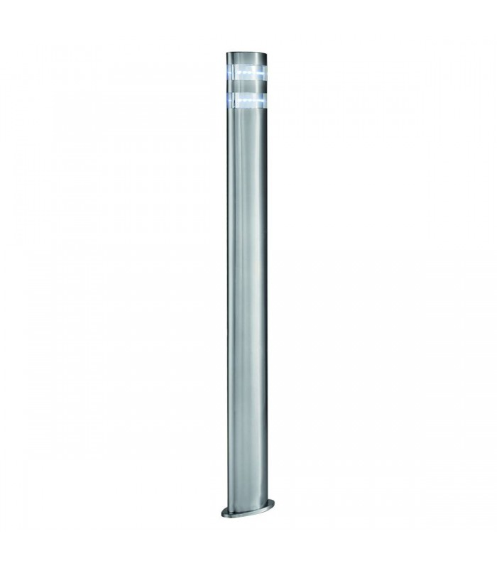 Satin Silver 24 LED Outdoor Post Light