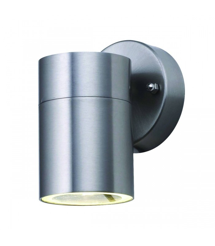 Stainless Steel LED Outdoor Wall Downlight - Searchlight 5008-1-LED