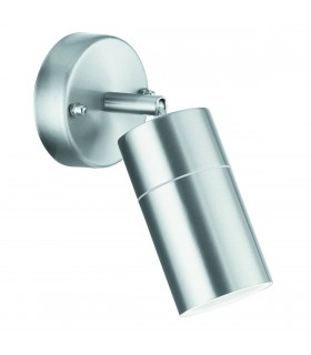 Adjustable LED 1 Light Outdoor Wall Light Cast Aluminium IP44