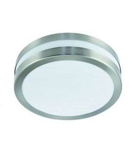 2 Light Outdoor Ceiling / Wall Light Stainless Steel IP44