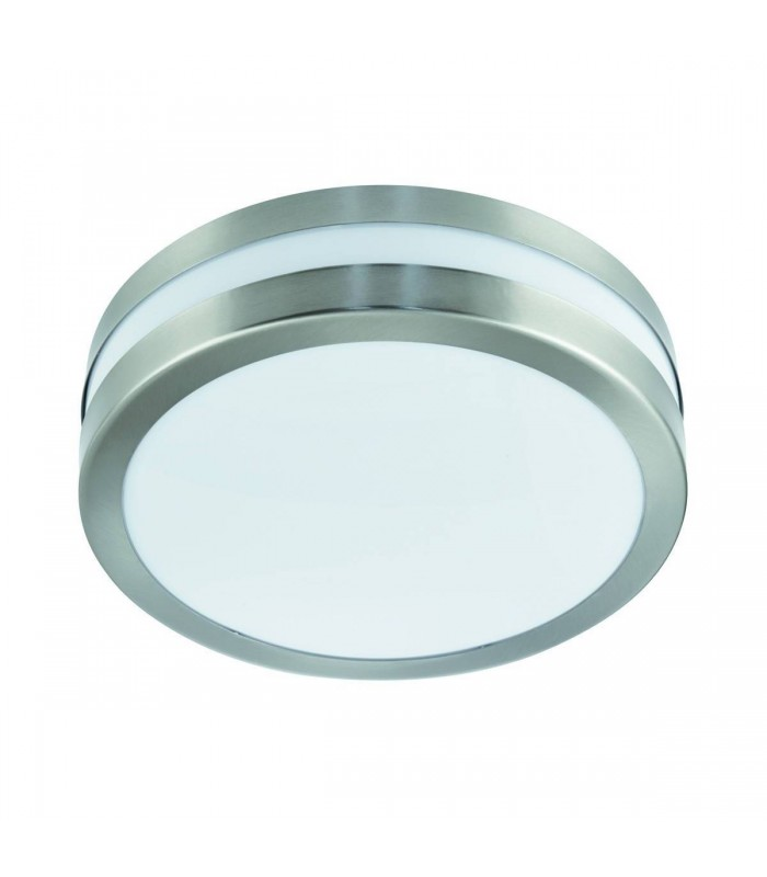 Stainless Steel 29Cm Flush Outdoor Ceiling & Wall Light