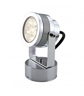 LED 6 Light Indoor Large Wall Spotlight Aluminium IP54