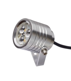 LED 3 Light Indoor Wall Spotlight Aluminium IP54