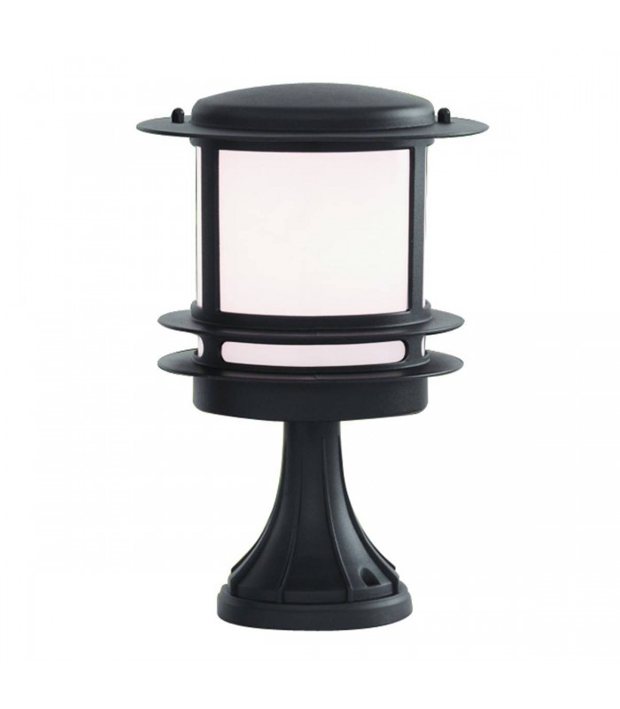 Black outdoor pedestal light searchlight 1264 stroud black outdoor pedestal light searchlight 1264 aloadofball Choice Image