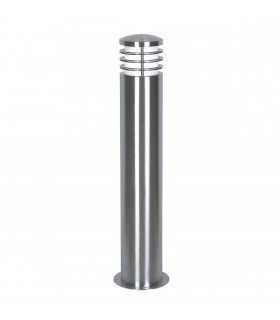 1 Light Outdoor Bollard Light Stainless Steel IP44