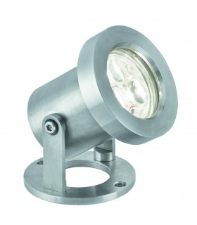 LED 3 Light Outdoor Spotlight Stainless Steel IP65