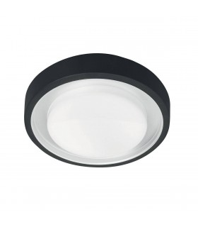 LED 1 Light Indoor Wall / Ceiling Lantern Light Graphite IP54