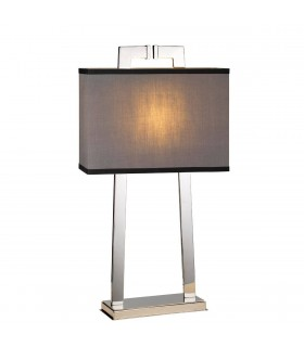 1 Light Table Lamp Polished Nickel, E27