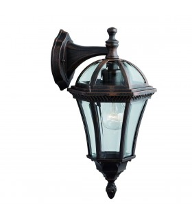1 LIGHT OUTDOOR WALL LIGHT RUSTIC BROWN - Searchlight 1563