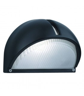 BLACK ALUMINIUM DOME WALL BRACKET - Searchlight 130