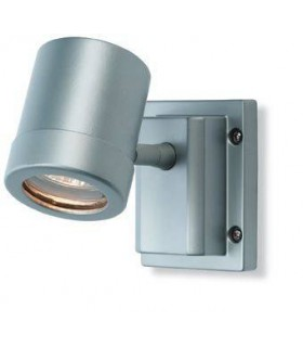 1 Light Single Wall Light Aluminium IP55, GU10