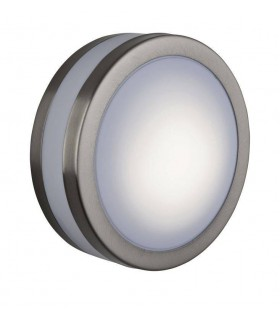 1 Light Low Energy Bulkhead Stainless Steel IP44