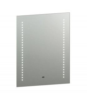 Light Illuminated Bathroom Mirrors Silver, Mirrored Glass IP44