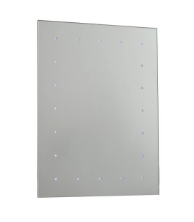 Toba Illuminated Bathroom Wall Mirror - Endon 51898