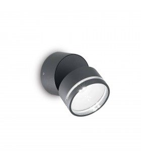 LED 6 Light Outdoor Wall Light Anthracite IP54
