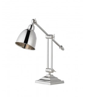 Table Lamp Polished Nickel Plate, E14