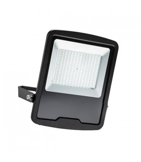Integrated LED Outdoor Wall Flood Light Matt Black, Glass IP65