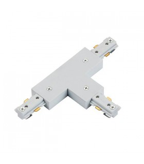 Track T Connector White