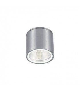 1 Light Outdoor Surface Mounted Ceiling Downlights Aluminium, Polished Chrome IP44, GU10