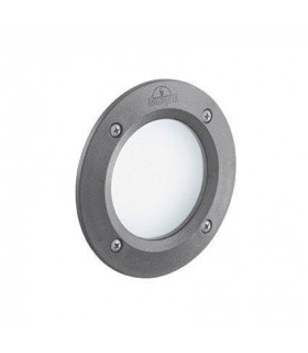 LED 1 Light Outdoor Recessed Light Grey IP66